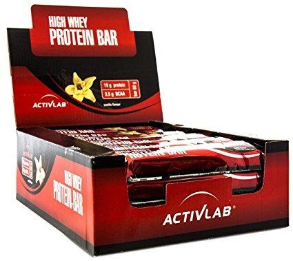 Activlab High Whey Protein Bar Vanilla 24 Stück