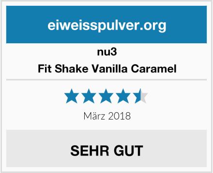 nu3 Fit Shake Vanilla Caramel Test