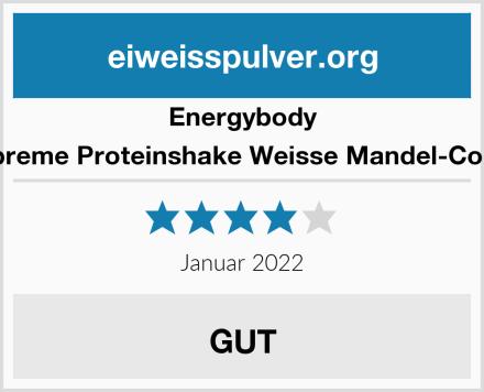 Energybody Supreme Proteinshake Weisse Mandel-Cocos Test