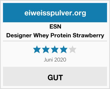 ESN Designer Whey Protein Strawberry Test