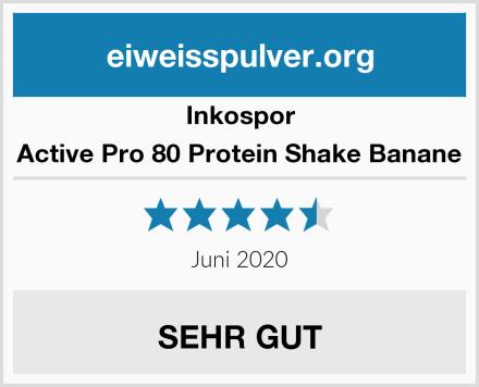 Inkospor Active Pro 80 Protein Shake Banane Test