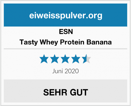 ESN Tasty Whey Protein Banana Test