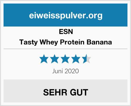 ESN Tasty Whey Protein Banana Test