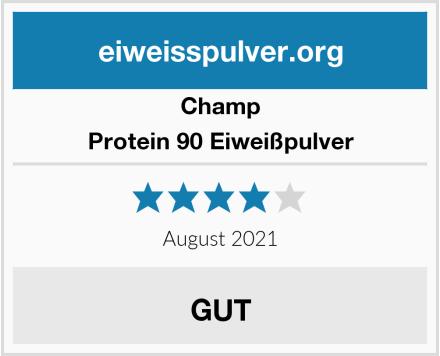 CHAMP Protein 90 Eiweißpulver Test