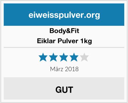 Body&Fit Eiklar Pulver 1kg Test