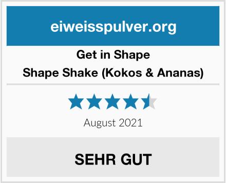GET IN SHAPE Shape Shake (Kokos & Ananas) Test