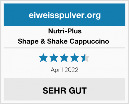 Nutri-Plus Shape & Shake Cappuccino  Test