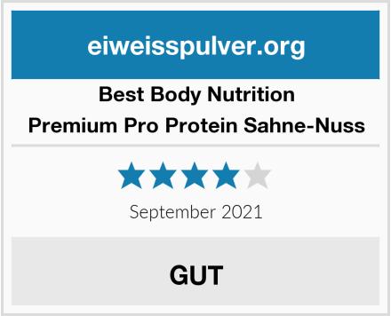 Best Body Nutrition Premium Pro Protein Sahne-Nuss Test