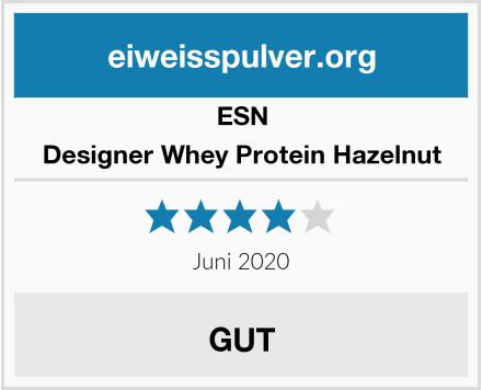 ESN Designer Whey Protein Hazelnut Test