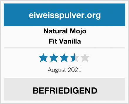 Natural Mojo Fit Vanilla Test