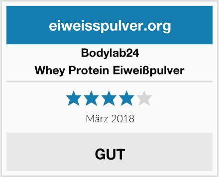 Bodylab24 Whey Protein Eiweißpulver Test
