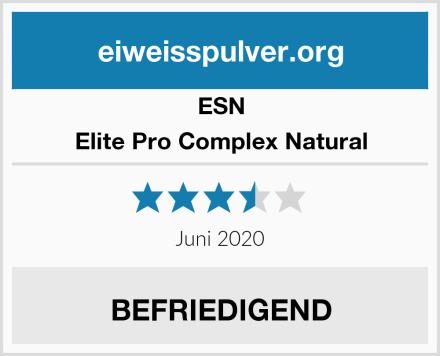 ESN Elite Pro Complex Natural Test