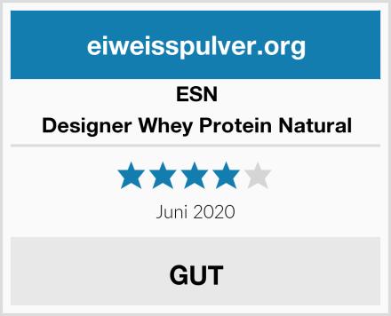 ESN Designer Whey Protein Natural Test