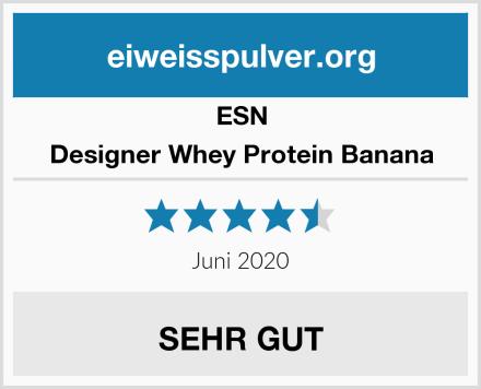 ESN Designer Whey Protein Banana Test