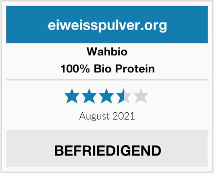 wahbio 100% Bio Protein Test