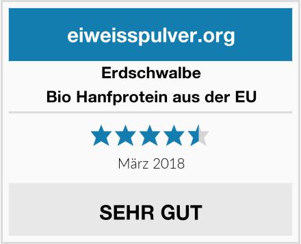 Erdschwalbe Bio Hanfprotein aus der EU Test