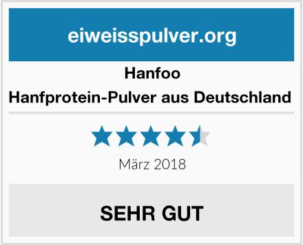 Hanfoo Hanfprotein-Pulver aus Deutschland  Test