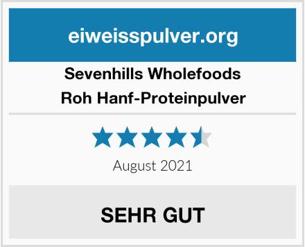 Sevenhills Wholefoods Roh Hanf-Proteinpulver Test