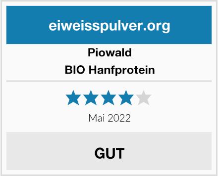 Piowald BIO Hanfprotein  Test