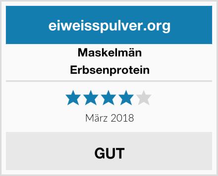 Maskelmän Erbsenprotein Test