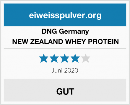 DNG Germany NEW ZEALAND WHEY PROTEIN Test