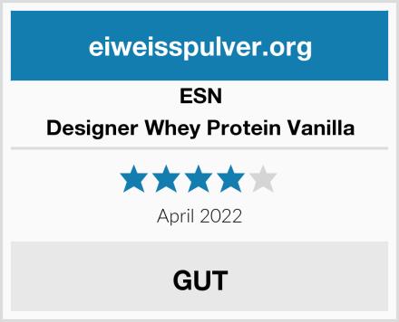ESN Designer Whey Protein Vanilla Test