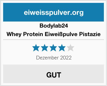 Bodylab24 Whey Protein Eiweißpulve Pistazie Test