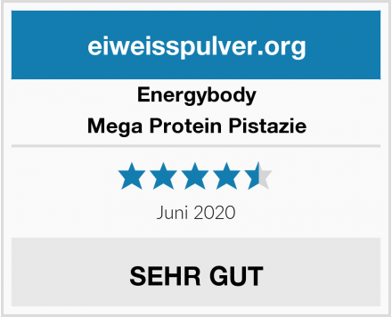 Energybody Mega Protein Pistazie Test
