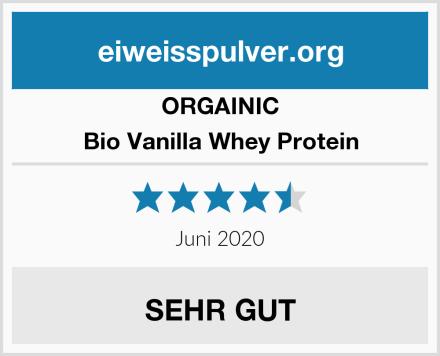 ORGAINIC Bio Vanilla Whey Protein Test
