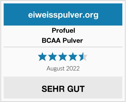 ProFuel BCAA Pulver  Test