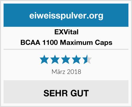 EXVital BCAA 1100 Maximum Caps Test