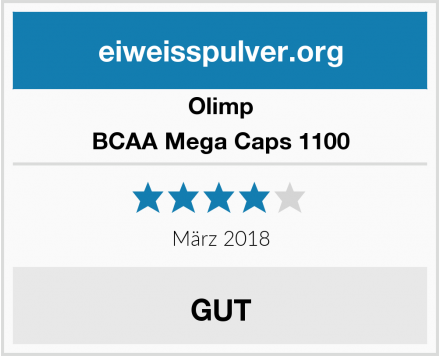 Olimp BCAA Mega Caps 1100 Test