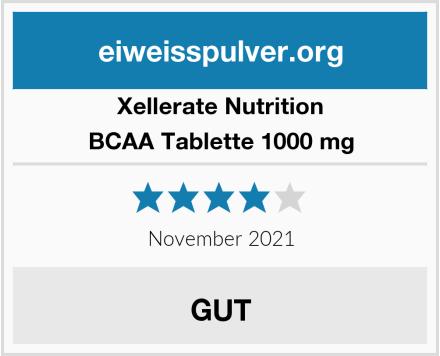 Xellerate Nutrition BCAA Tablette 1000 mg Test