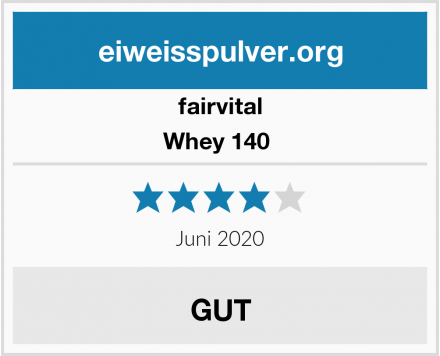 Fairvital Whey 140  Test