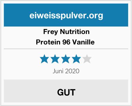 Frey Nutrition Protein 96 Vanille  Test