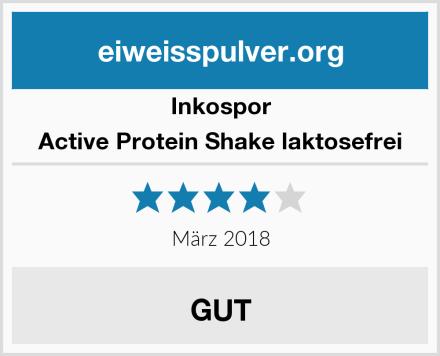 Inkospor Active Protein Shake laktosefrei Test