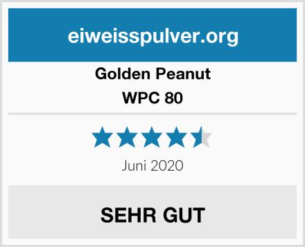 Golden Peanut WPC 80 Test
