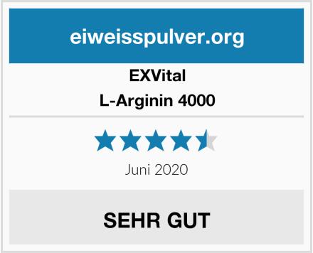 EXVital L-Arginin 4000 Test