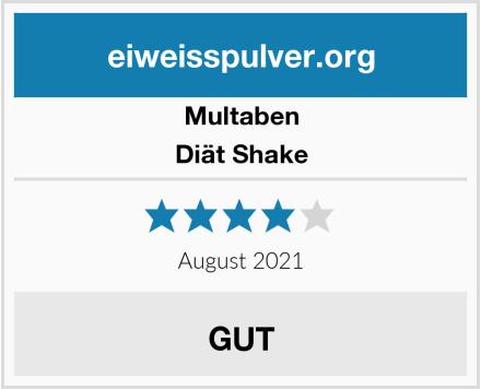 Multaben Diät Shake Test