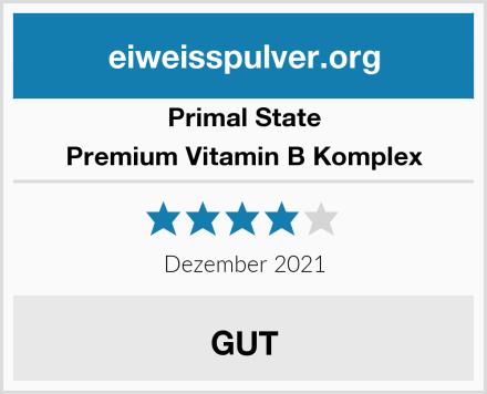 Primal State Premium Vitamin B Komplex Test
