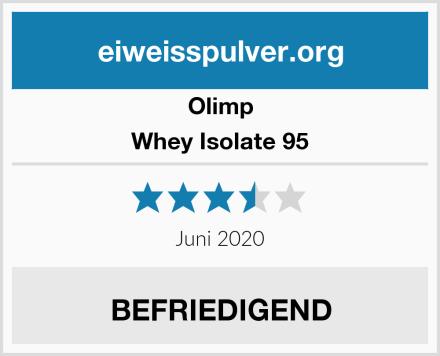 Olimp Whey Isolate 95 Test
