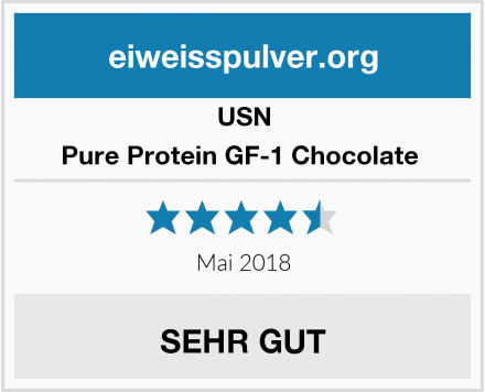 USN Pure Protein GF-1 Chocolate  Test