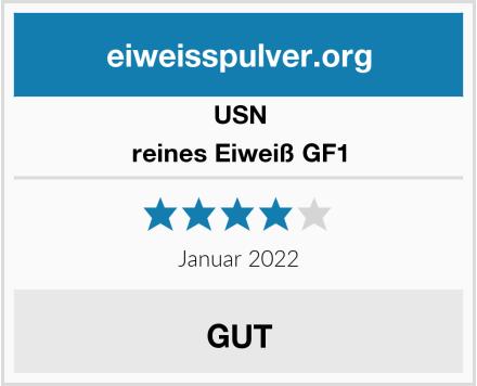 USN reines Eiweiß GF1 Test