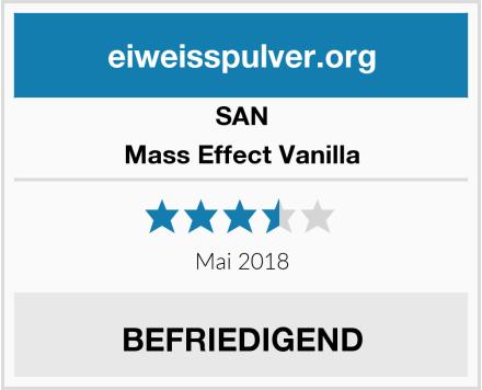 SAN Mass Effect Vanilla Test