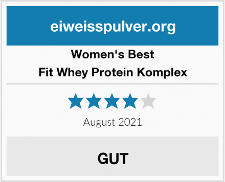 Women's Best Fit Whey Protein Komplex Test