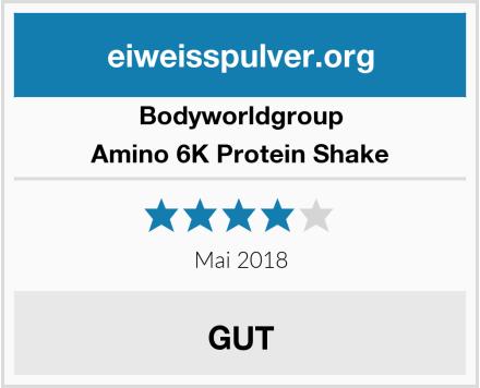 BodyWorldGroup Amino 6K Protein Shake Test
