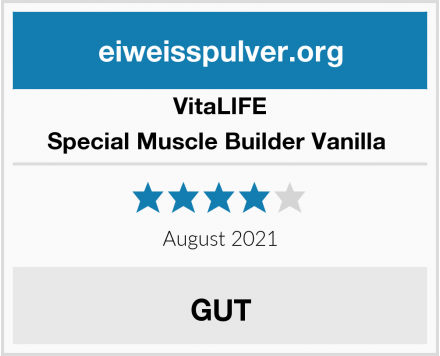 VitaLIFE Special Muscle Builder Vanilla  Test