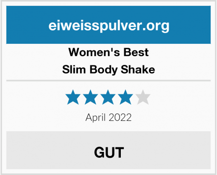 Women's Best Slim Body Shake Test