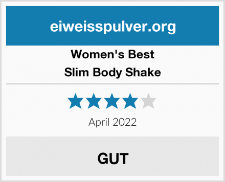 Women's Best Slim Body Shake Test