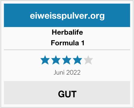 Herbalife Formula 1 Test
